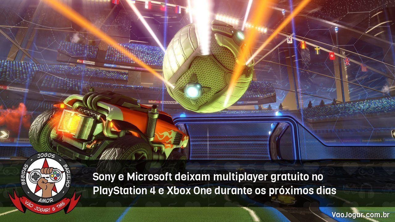 Sony e Microsoft deixam multiplayer gratuito no