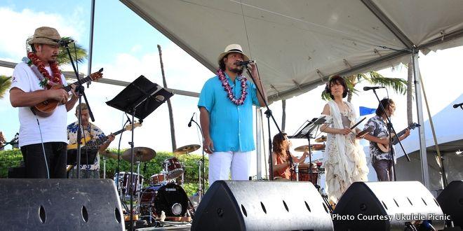 Official 'Ukulele Picnic in Hawai'ii is coming next Sunday!  「第6回ウクレレピクニック・イン・ハワイ」来週日曜日に迫る   ハワイ最新情報満載!プーコのハワイサイト