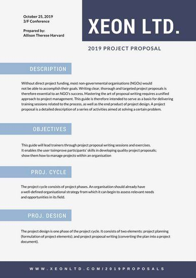 Free Website Proposal Template in 2020 (With images) Web