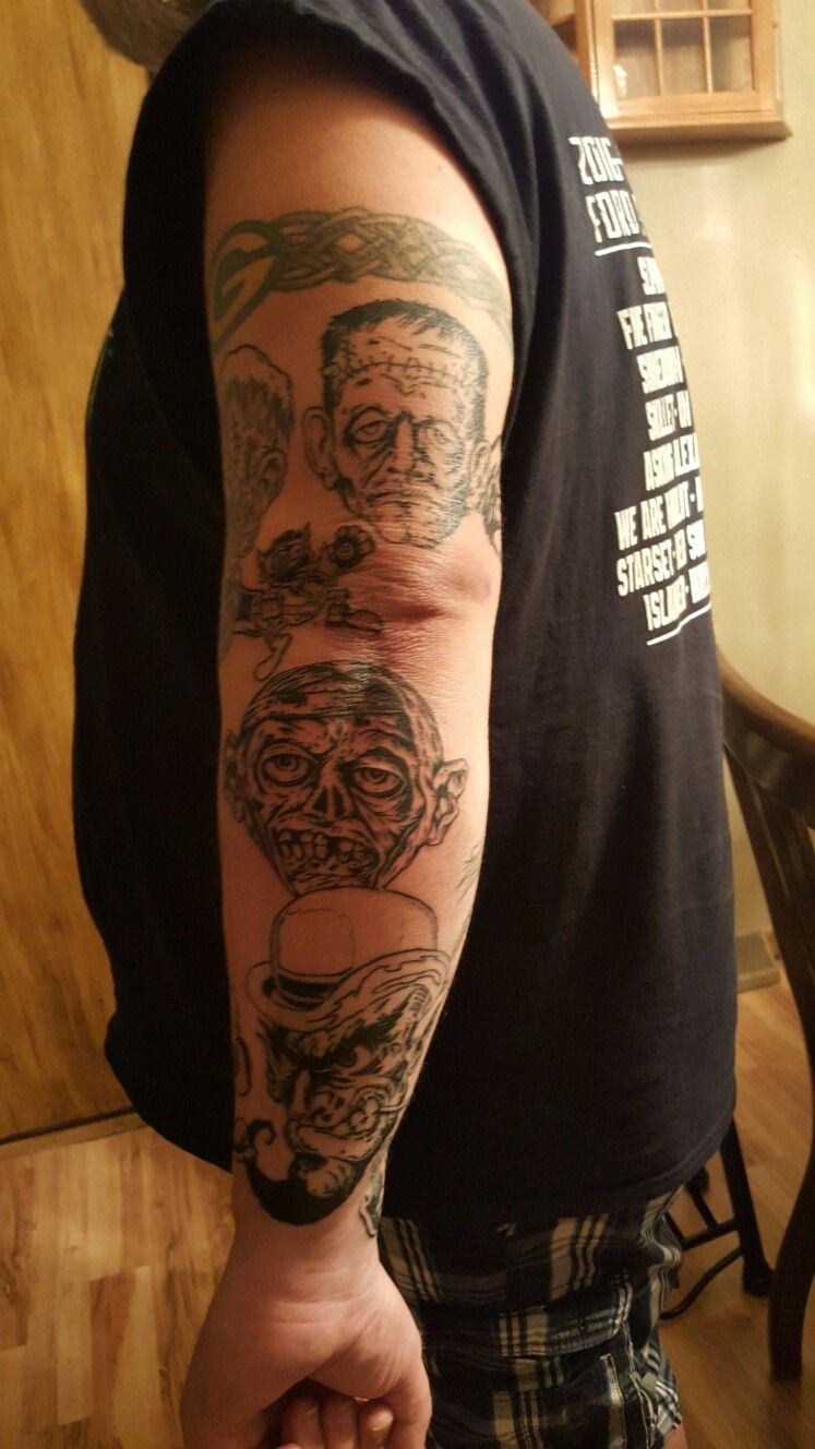 Pin by Craig Norman on Rob Zombie Rob zombie, Tattoos