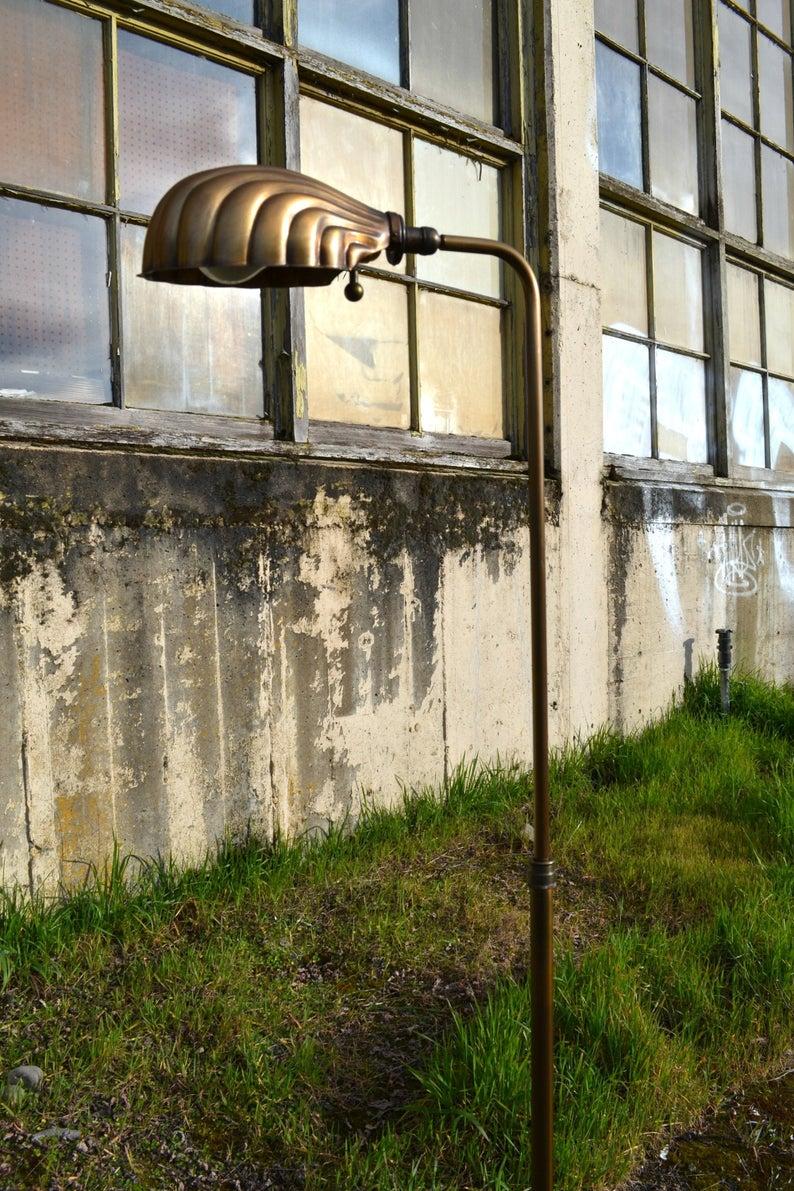 Mid Century Floor Lamp Clam Shell Floor Lamp Vintage Brass | Etsy #ModernArtifactDecor #midcentury #midcenturydecor #midcenturylighting #midcenturymodern #clamshell #lamp #floorlamp #brass #vintage #coastalliving #beachdecor #beachhouse #beachhousedecor