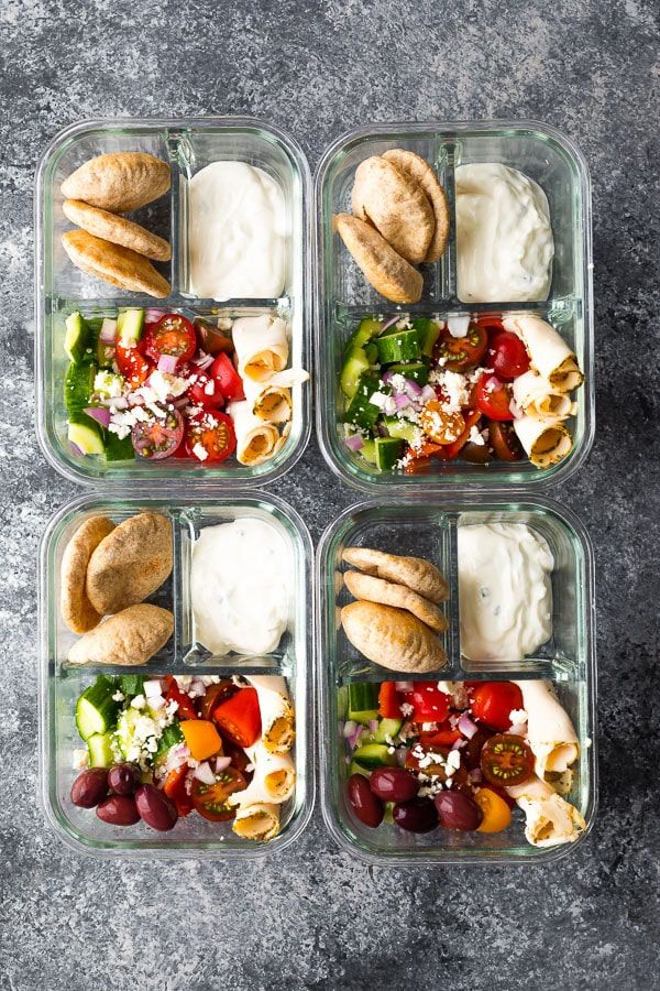 The Best Breakfast & Lunch Meal Prep Ideas for Hot Weather images