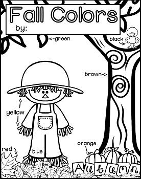 Fall-Colors-Read-and-color-2079467 Teaching Resources - TeachersPayTeachers.com