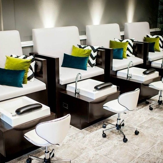 Stella Pedicure Chair with our Mode Vessel Sink Salon Spa