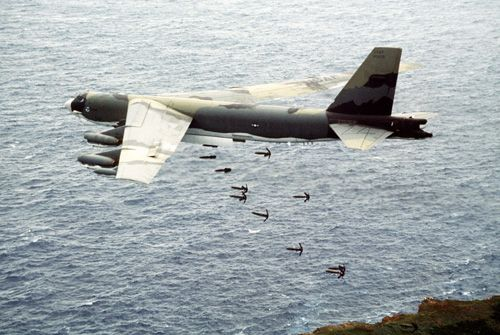 B-52 dropping bombs#Repin By:Pinterest++ for iPad#