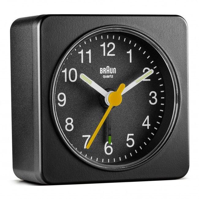 Bnc019 Classic Travel Alarm Clock Travel Alarm Clock Braun Alarm Clock Clock