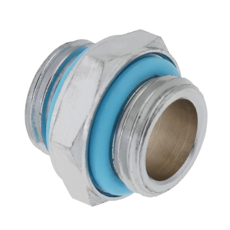 1pc Water Cooler Fittings G1 4 Dual External Thread Tube Connector