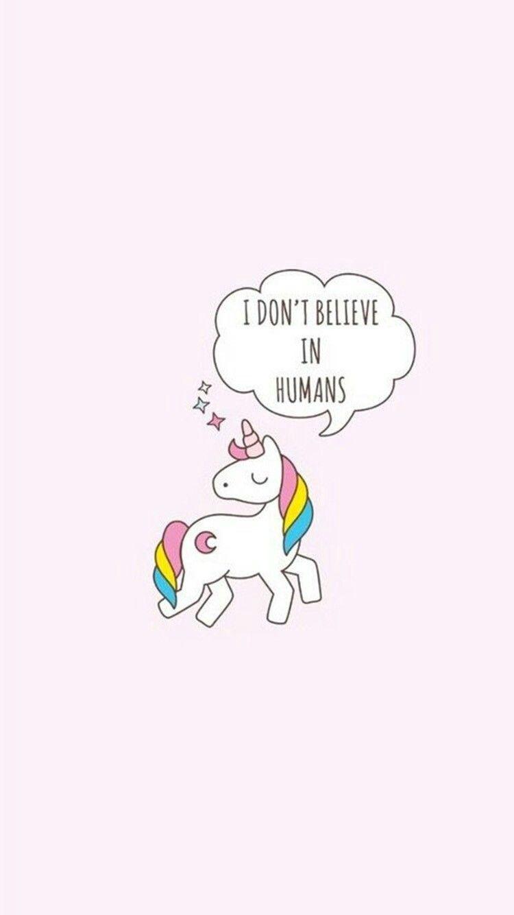 Those mortals disgust me!   Iphone wallpaper unicorn ...