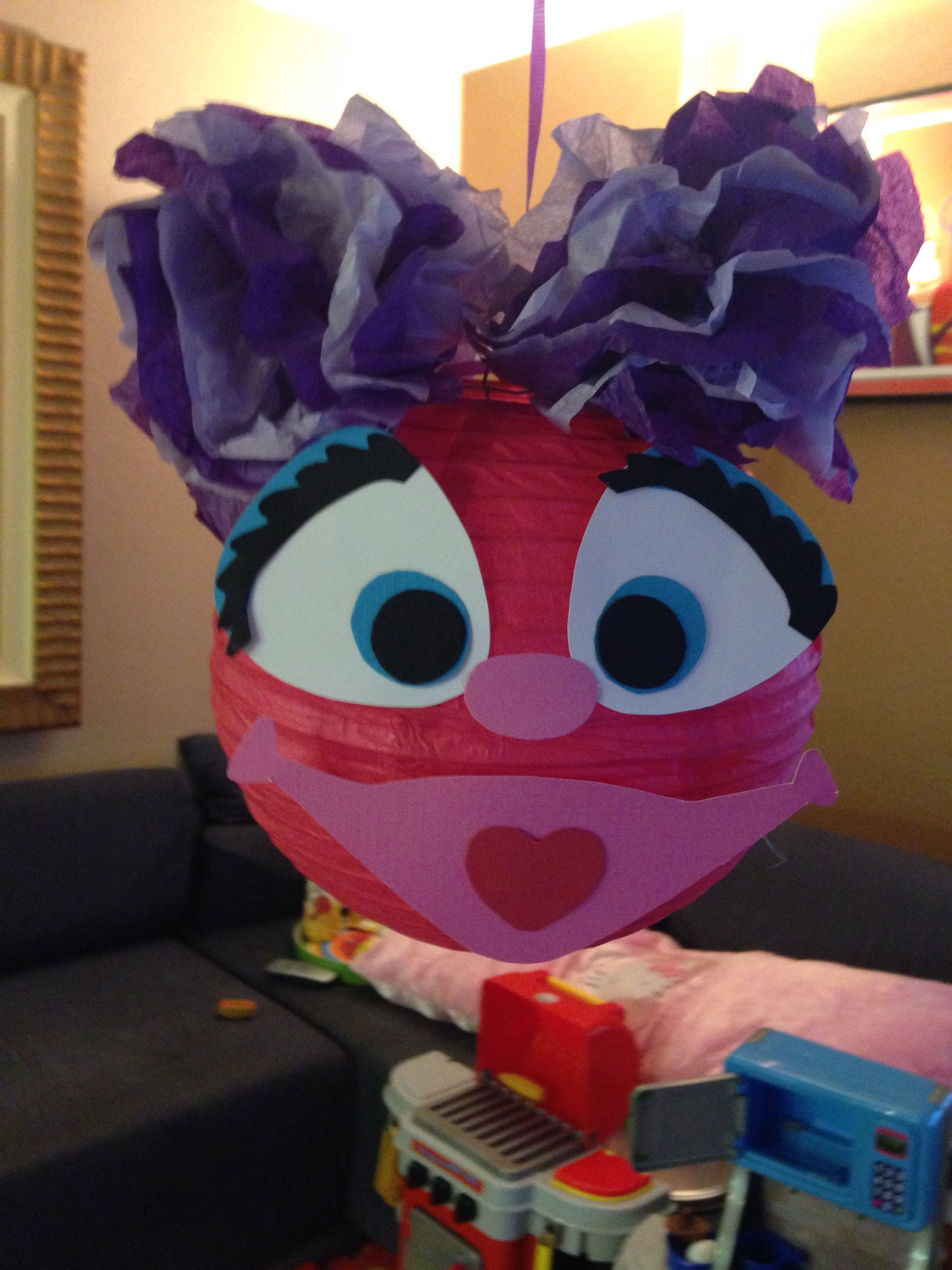 Abby Cadabby Party Decorations Abby Cadabby Party Decoration Made From Paper Lantern Tissue