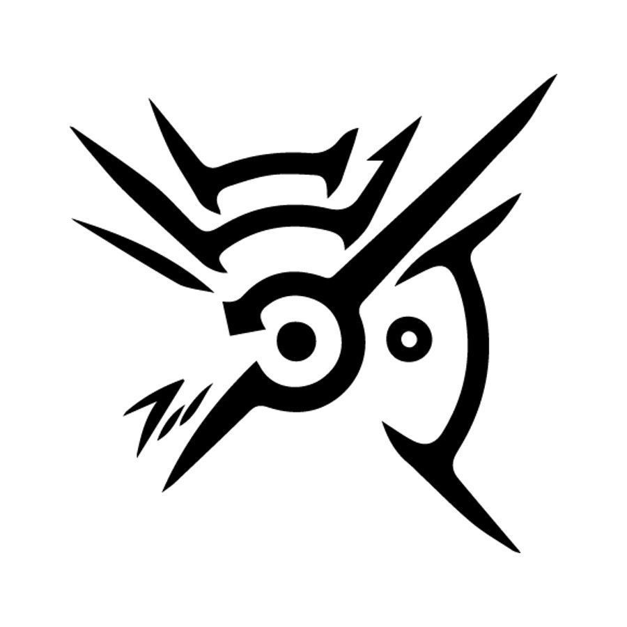 Outsider Mark Dishonored Vinyl Decal Bumper Sticker Window Decal Computer Deca Cool Symbols Gaming Tattoo Cool Symbols To Draw