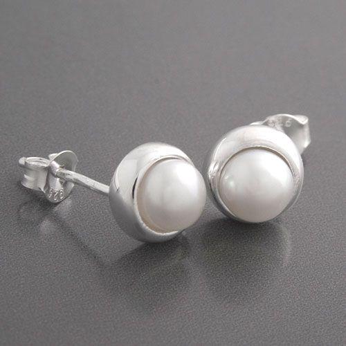 Schön perlen ohrstecker