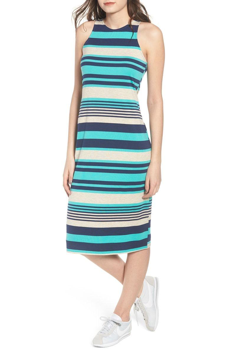 3cef1fb512a Stripe Midi Dress