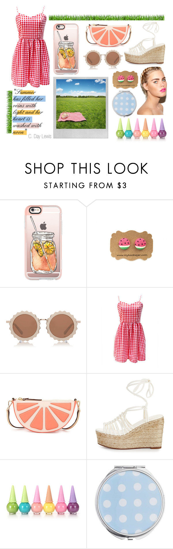 """Summer Days"" by cool7677m ❤ liked on Polyvore featuring Casetify, House of Holland, Kate Spade, Chloé, Polaroid, Miss Selfridge, katespade, MissSelfridge, chloe and houseofholland"