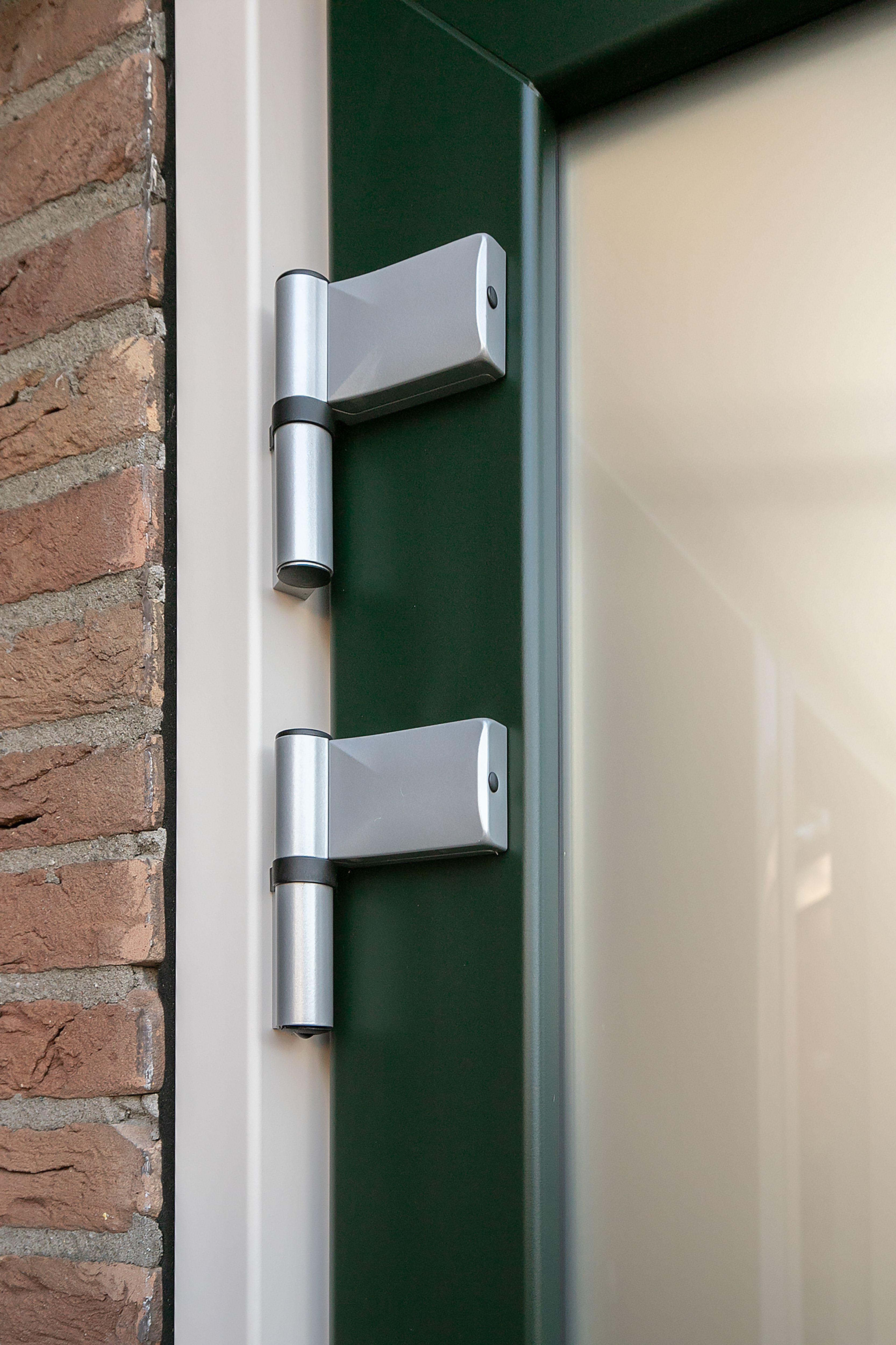 Plastic door green
