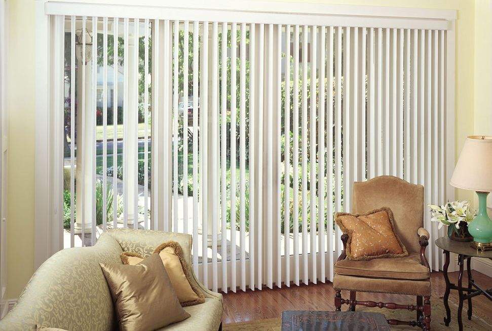 I Like How These Vertical Blinds Really Open Up The Room And Make It Look A