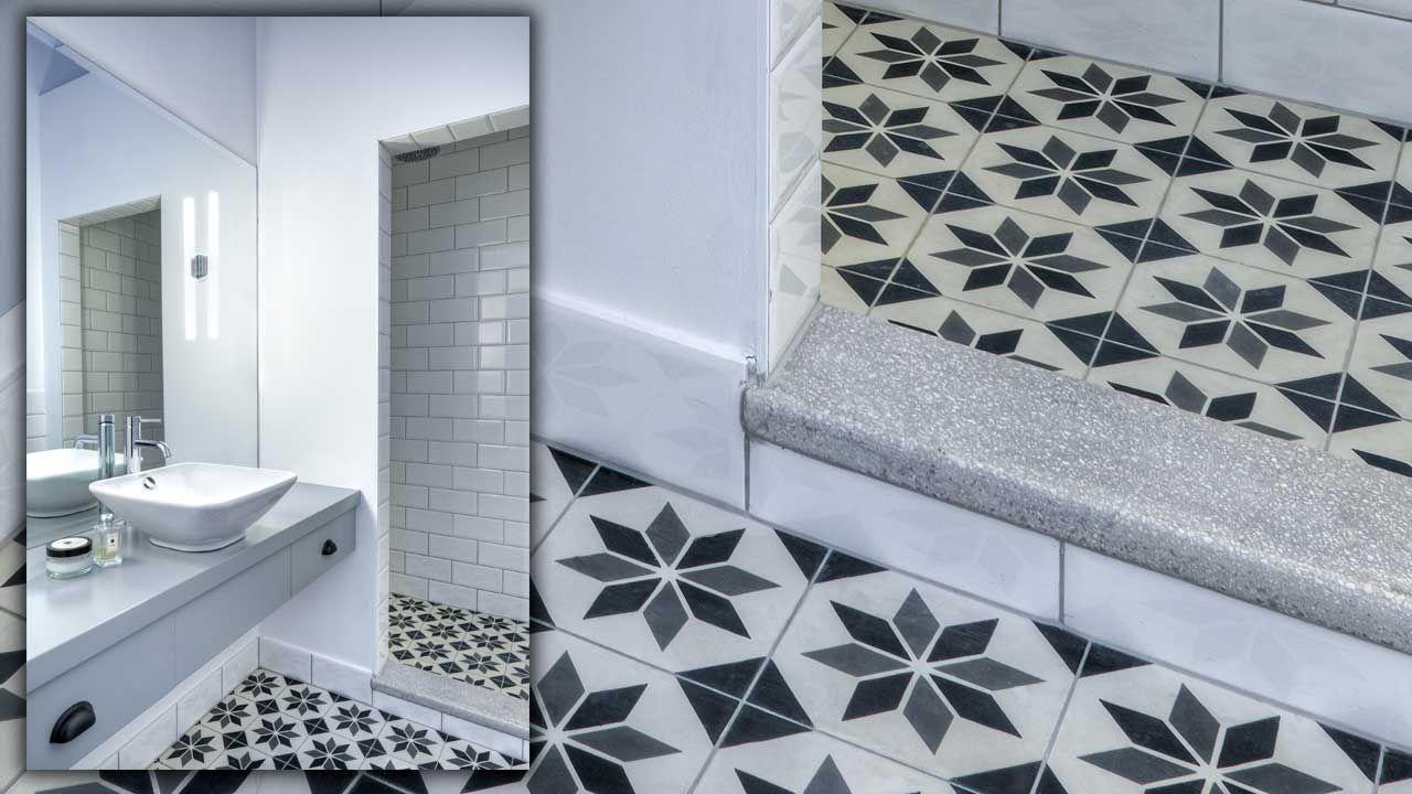 Cementine Bagno ~ Una doccia unica cementine di recupero cementine idee