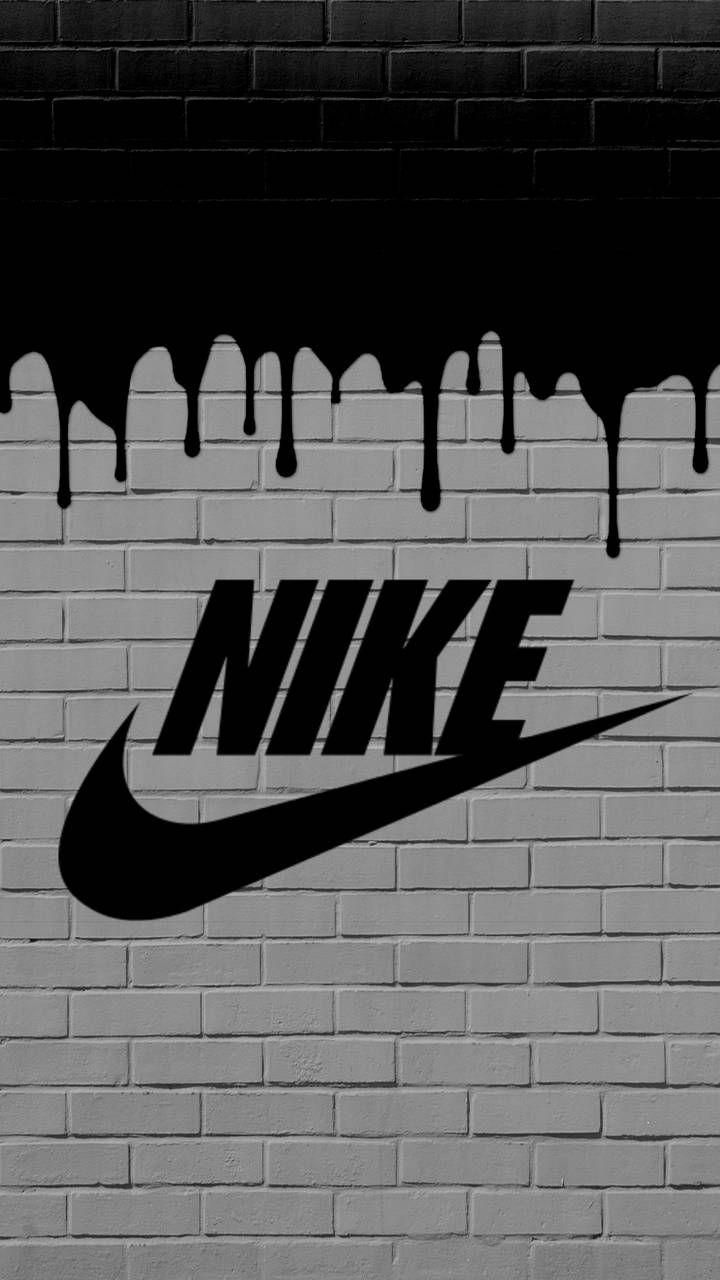 Nike Black Painting Wallpaper Nike Wallpaper Iphone Nike Wallpaper Graffiti Wallpaper