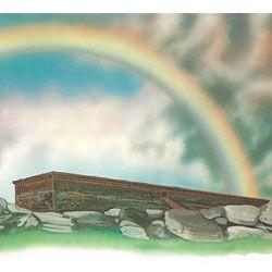 The ark and a rainbow