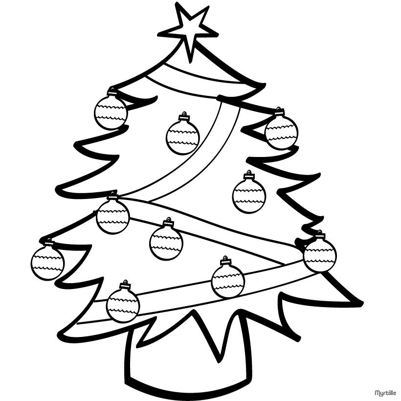 Christmas Tree Color Page COLORING PAGES FOR FREE Pinterest - best of coloring pages for a christmas tree