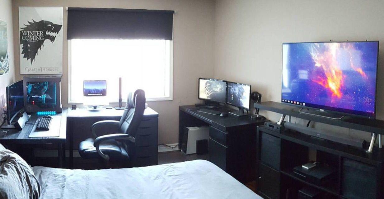 Best Pin By Adam Wurster On Desktop Setups Bedroom Setup 400 x 300