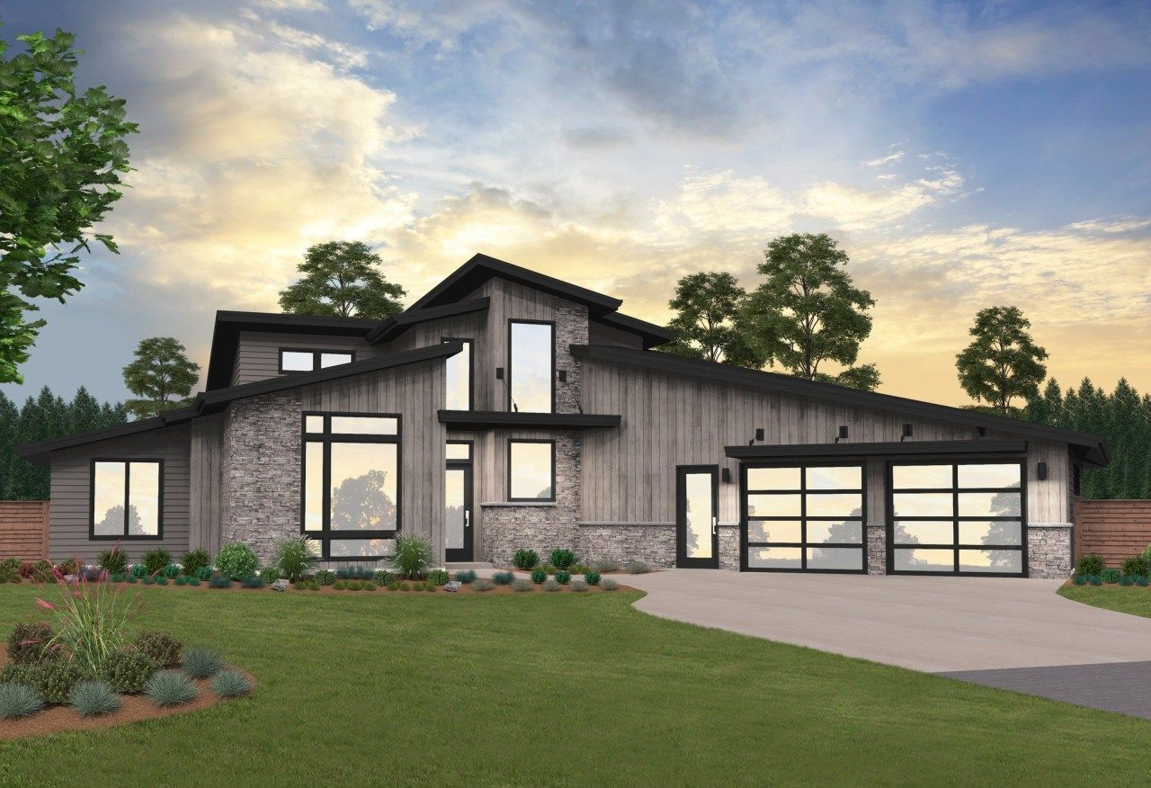 Pendleton House Plan in 2020 Contemporary house plans