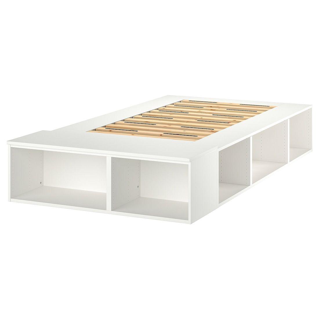 Photo of PLATSA sengeramme med oppbevaring – hvit – IKEA Østerrike