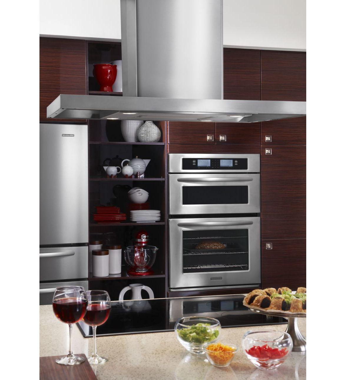 Kitchenaid 174 30 Inch Steam Assist Combination Microwave