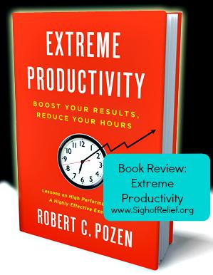 Extreme Productivity Relief Organizations Organization Productivity