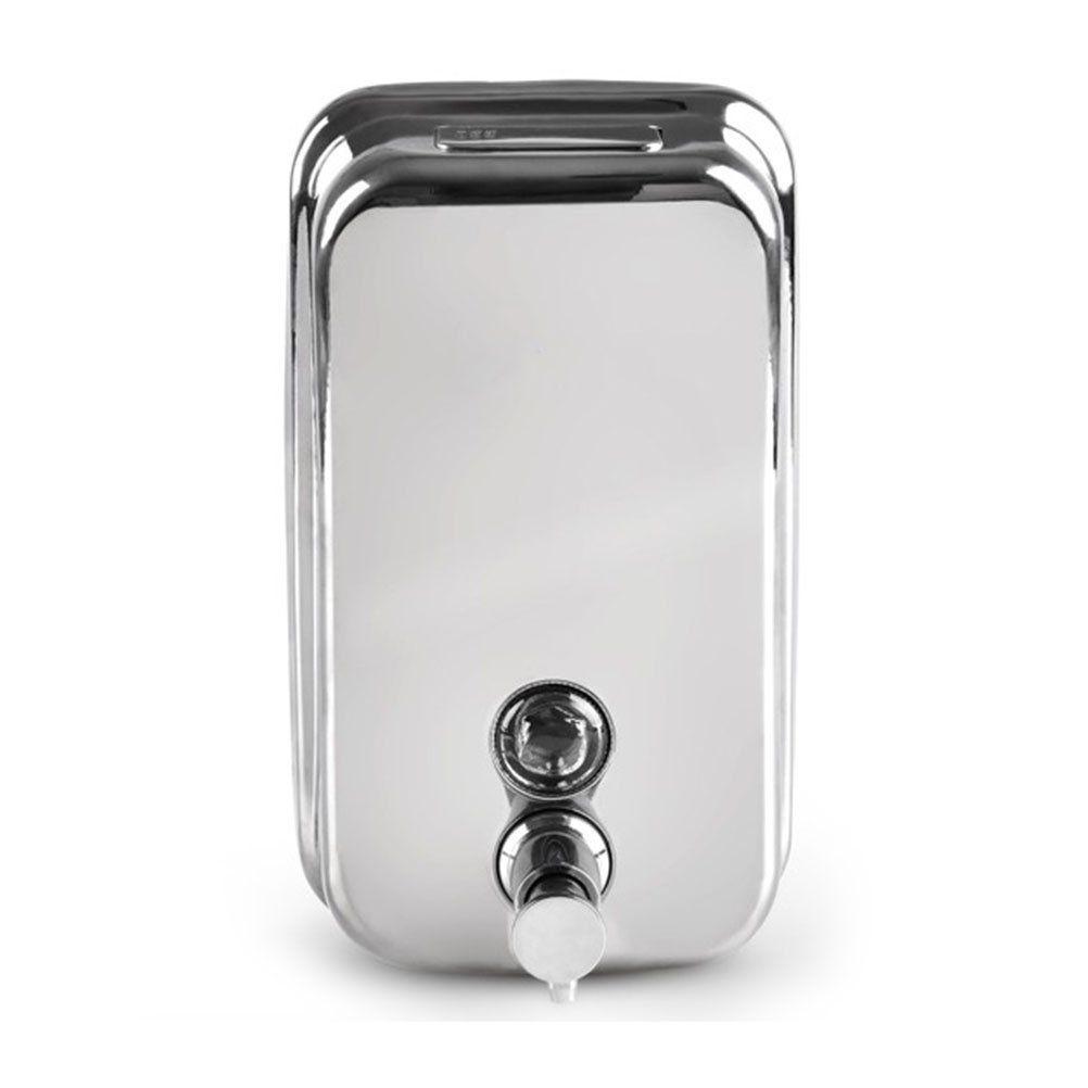 VORCOOL Edelstahl Seifenspender Wandmontage 500ml (Silber): Amazon ...