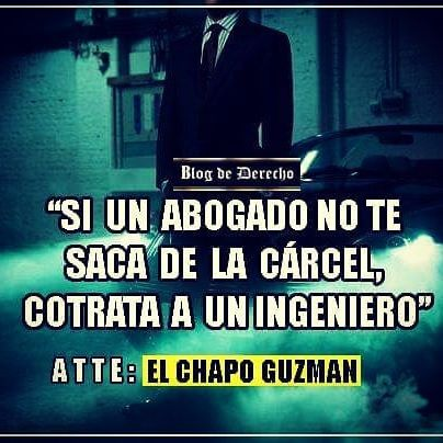 El Chapo Guzmán Abogados Derecholawyer Blogdederecho