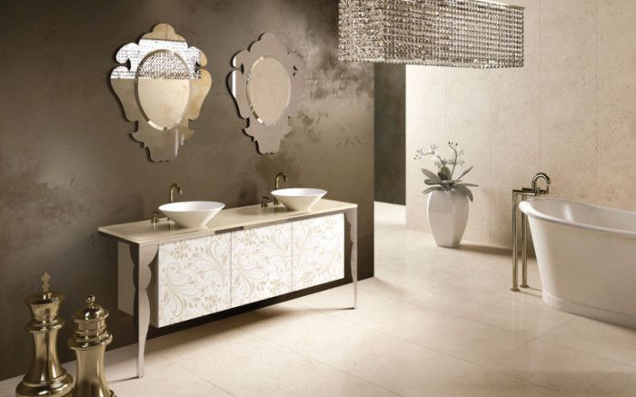 Charming Style Triumphs With The Branchetti Bathroom Collection