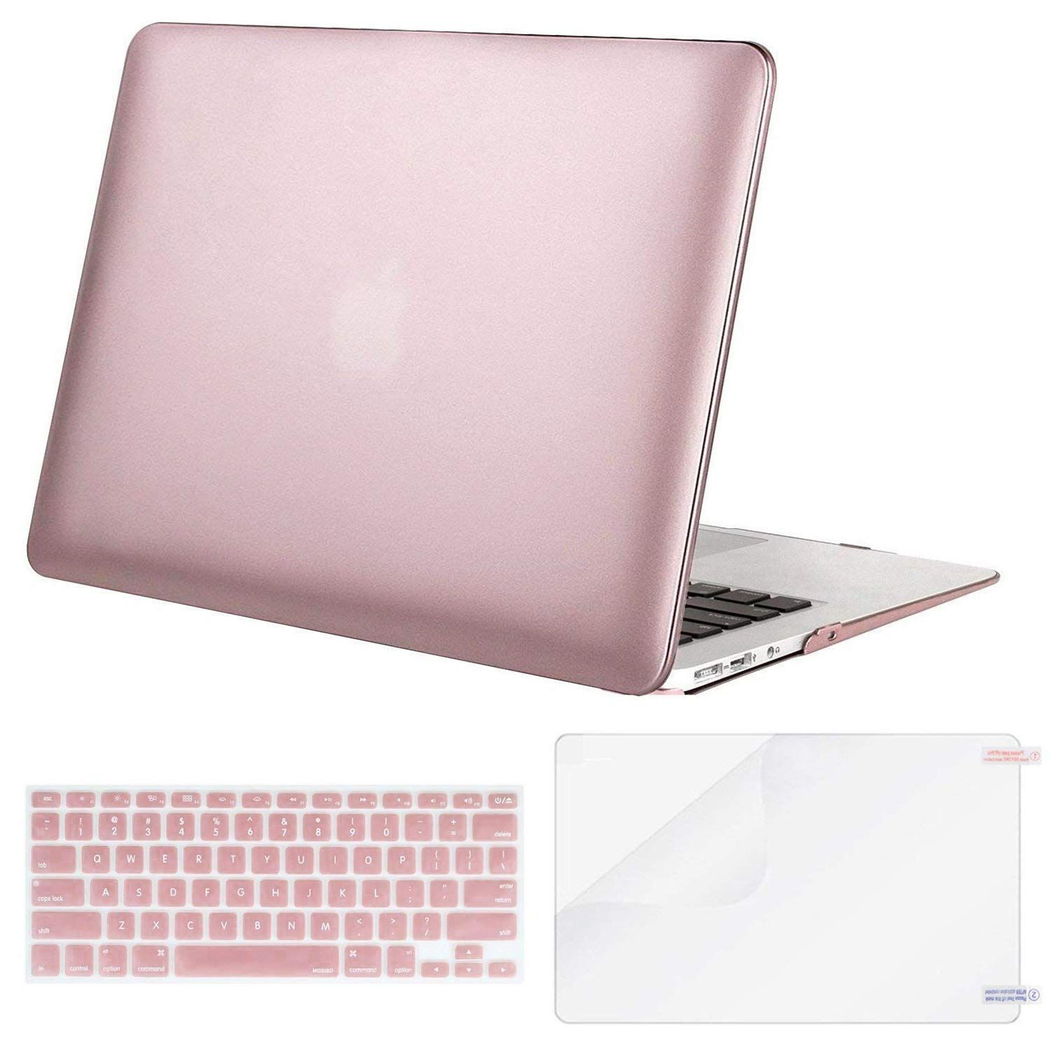 new product 3bb18 84f55 Amazon.com: MOSISO Plastic Hard Case & Keyboard Cover & Screen ...
