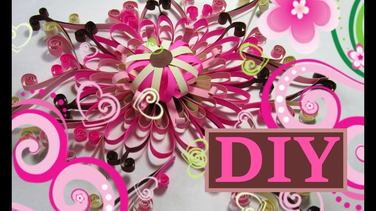 Pin By Dey On How To Make A Paper Flower Pinterest Flower Wall