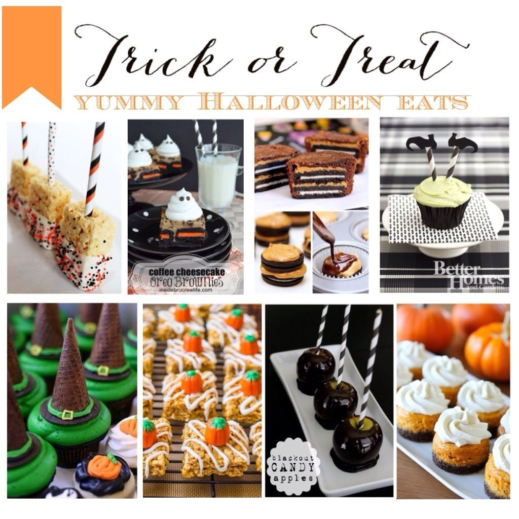 Trick or Treat! Yummy Halloween Eats Looking for some sweet treats to serve up at your spooky soiree? We've ...