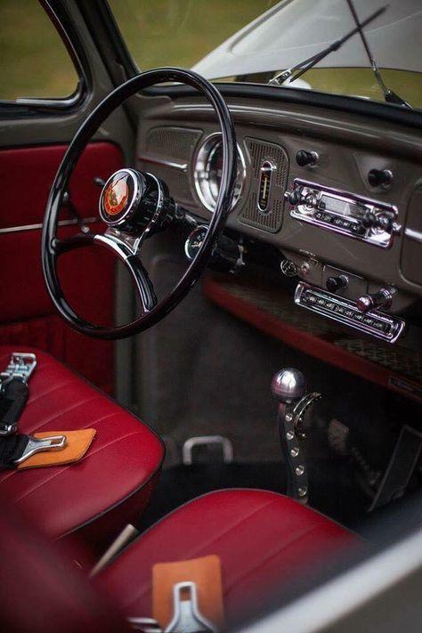 59 Trendy Cars Interior Vw Beetles En 2020 Interiores De Vocho Motor Vocho Motor De Vocho