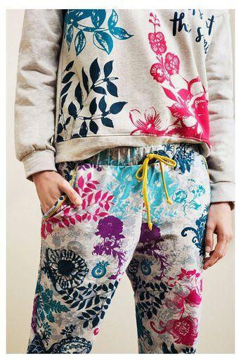 Pantalón de pijama con puños | Desigual.com H