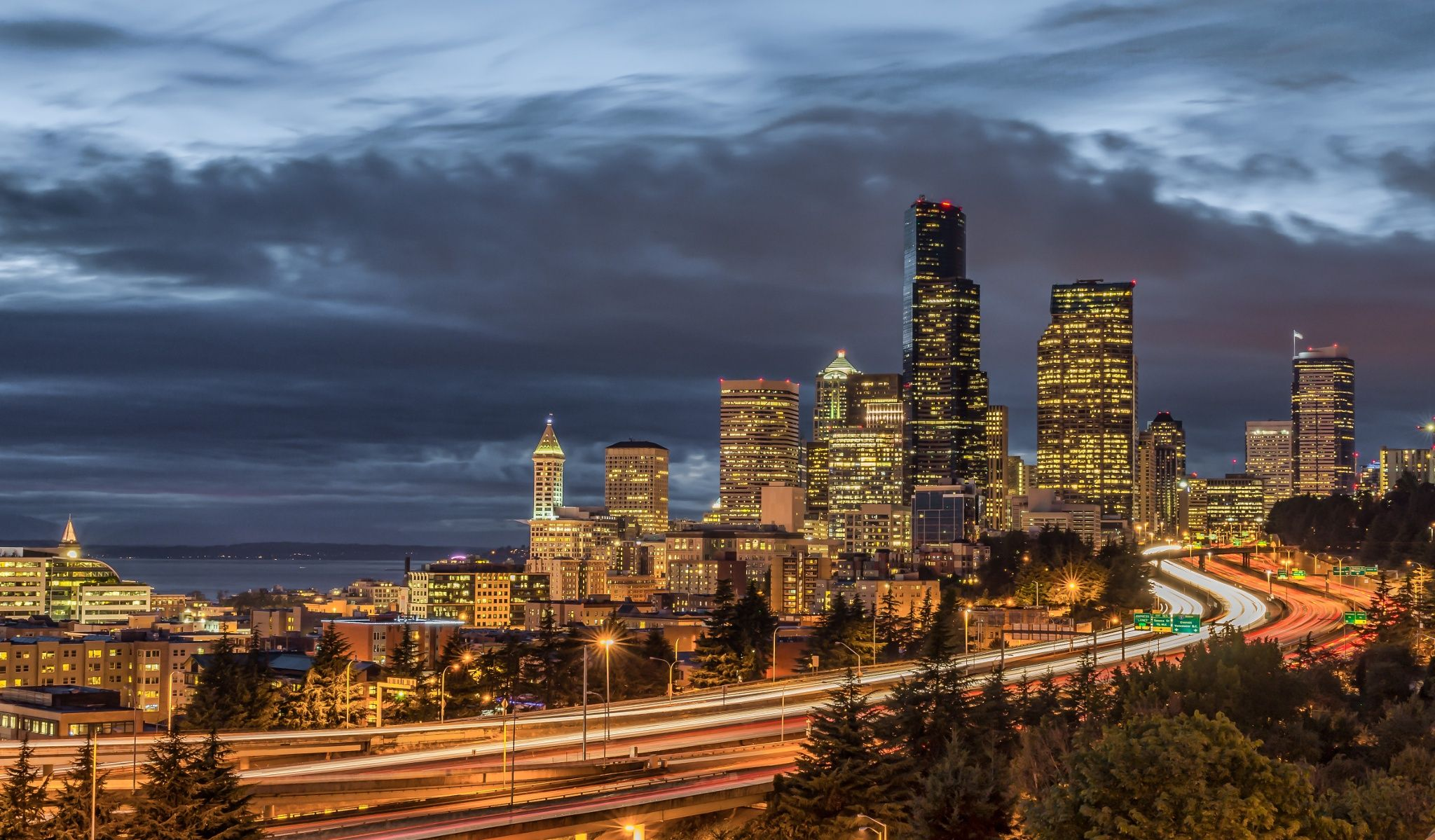 Seattle storm by JamJam on 500px Seattle