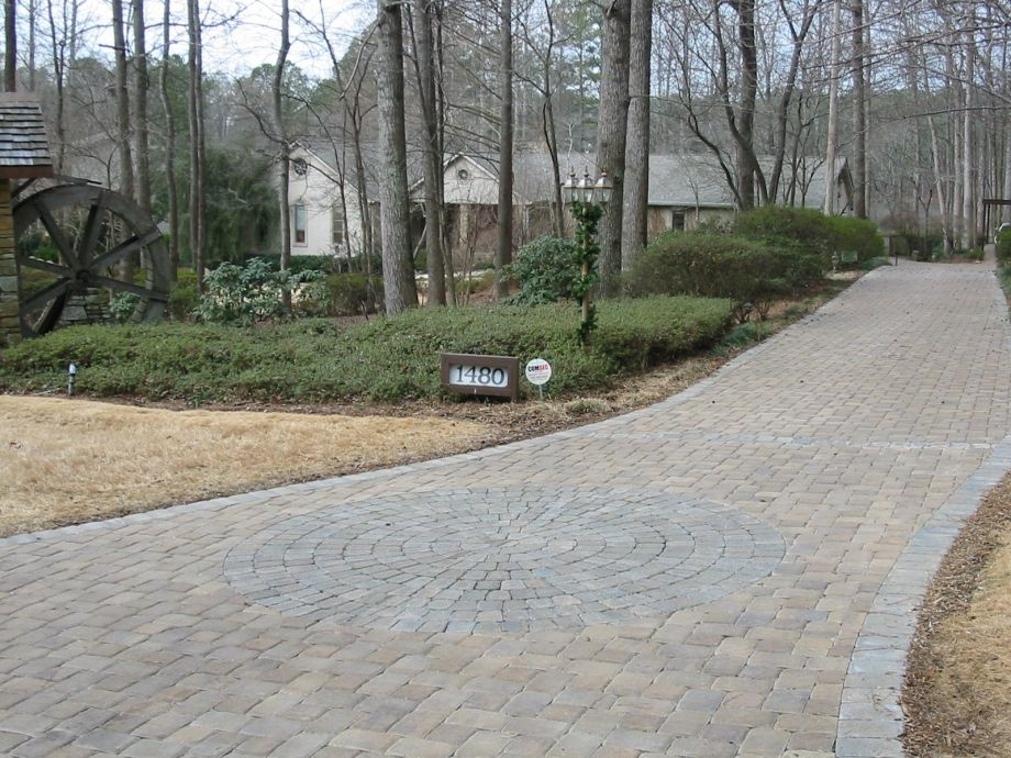 Paver Driveway Residential Walls And Pavers Rpm Landscape