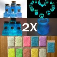 14 Colors DIY Super Bright Glow In The Dark Powder Fluorescent Luminous Pigment