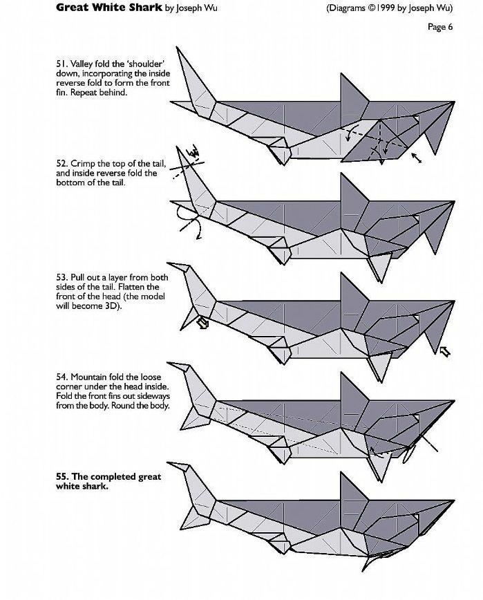Origami Shark Party Shark Party Pinterest Origami Shark And Craft