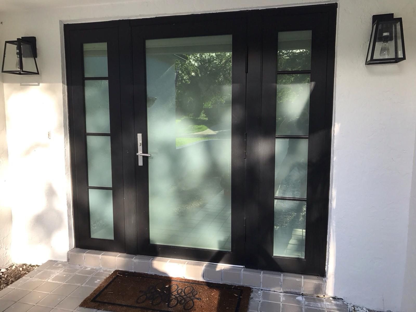 Get A Beautiful Impact Front Door Made From Aluminum Installed