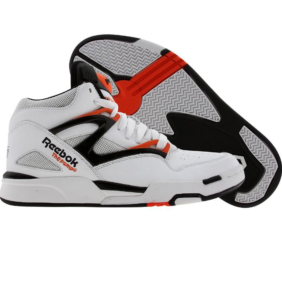 a75a6ba024 Reebok Pump Omni Lite OG Retro (white   black   solar orange) Shoes 4-J15601