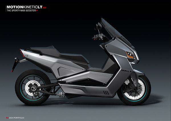 mk lt300 electric maxi scooter on behance scooter pinterest moto electrique motos et. Black Bedroom Furniture Sets. Home Design Ideas