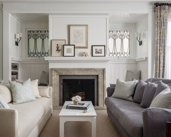 Find This Pin And More On Decorating Ideas Light Classic Contemporary Living Room