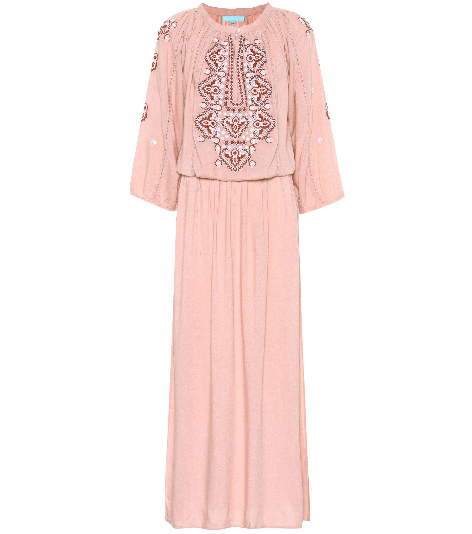 Melissa Odabash Woman Sienna Embroidered Voile Maxi Dress White Size S Melissa Odabash U2aYRNO0k