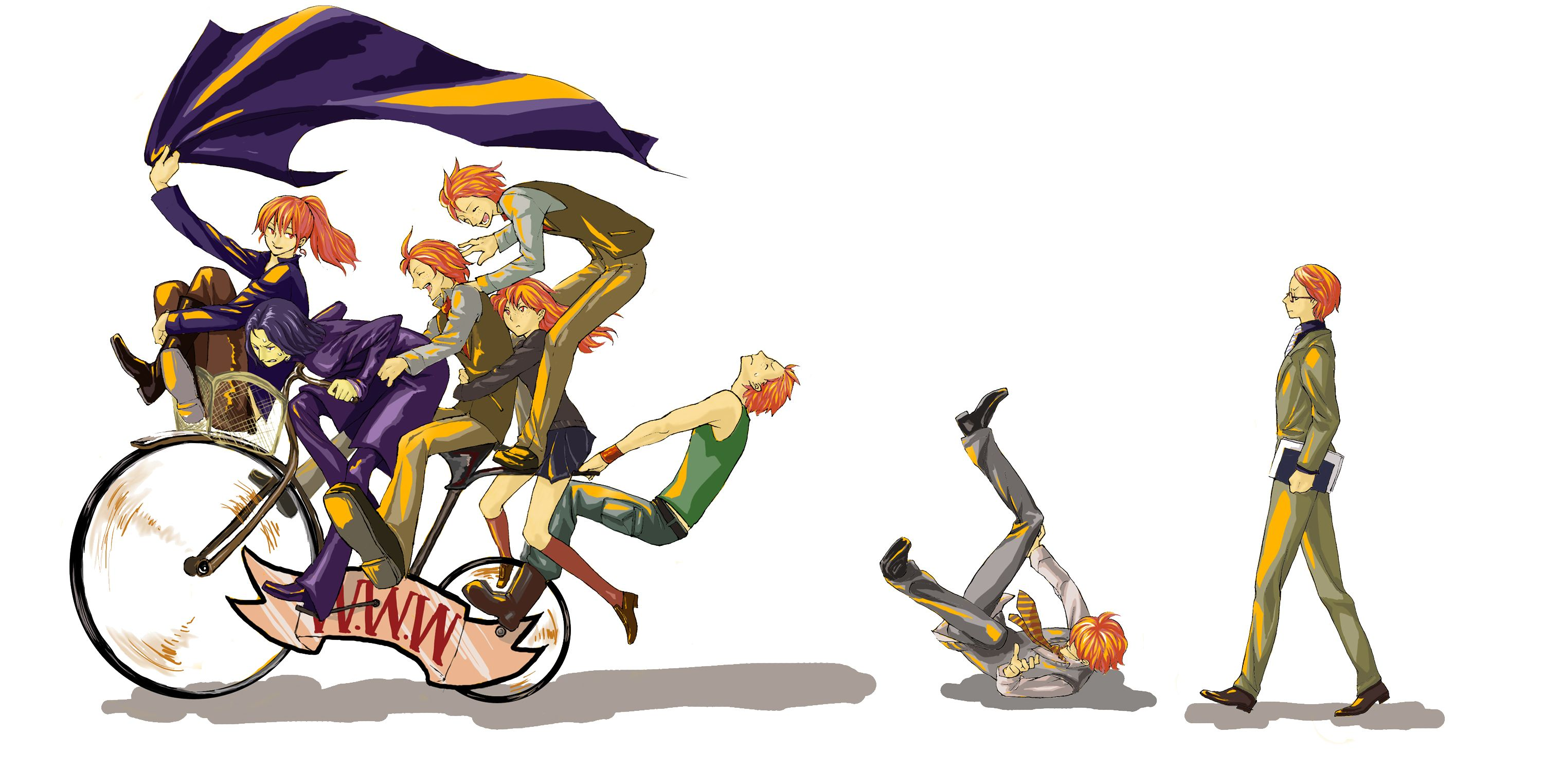 The Weasley kids and a
