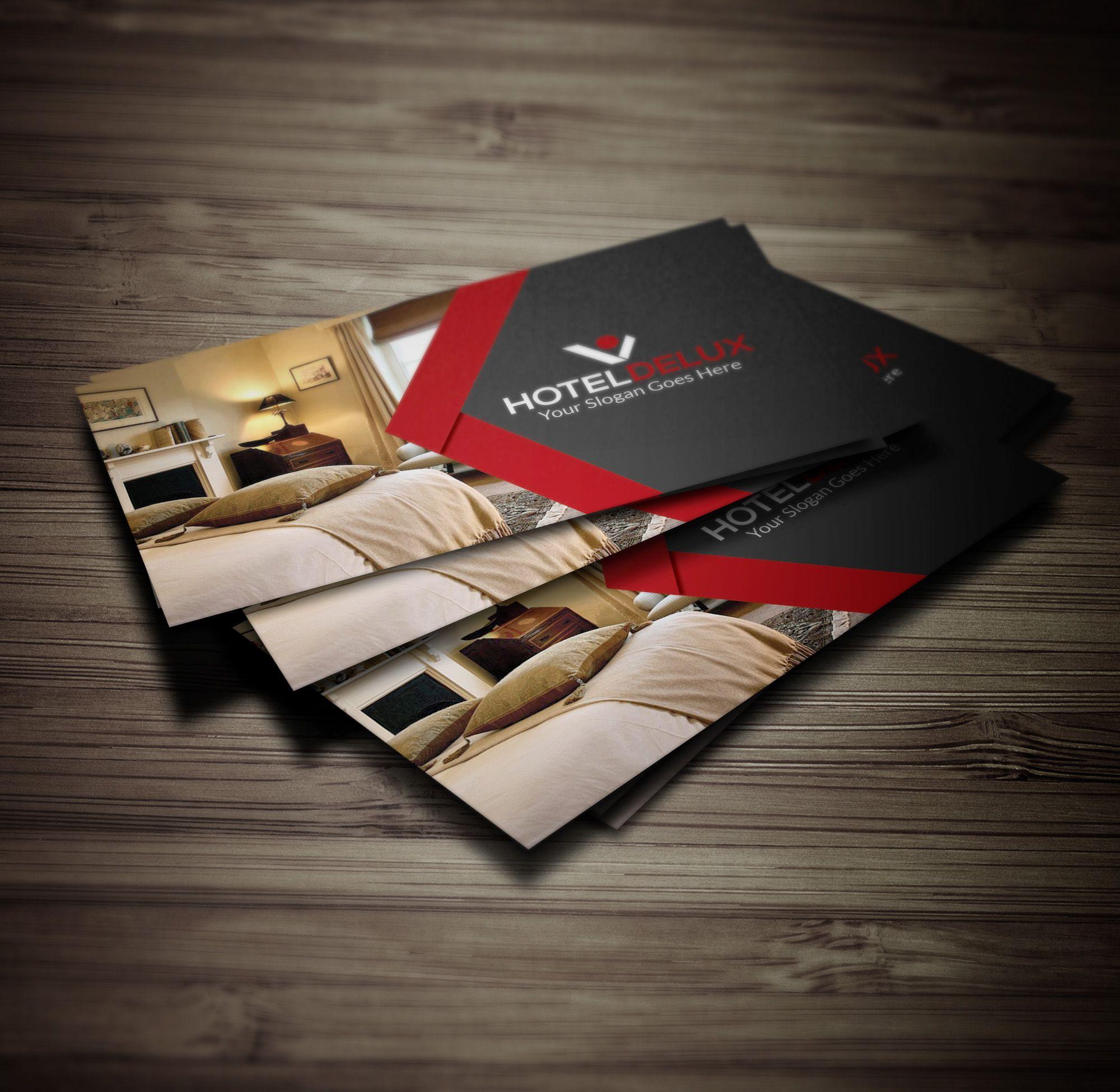 Hotel Business Card Print Templates Cards Visit Carte De Visite