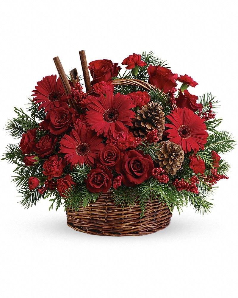 Berries and Spice Flower delivery, Christmas flower