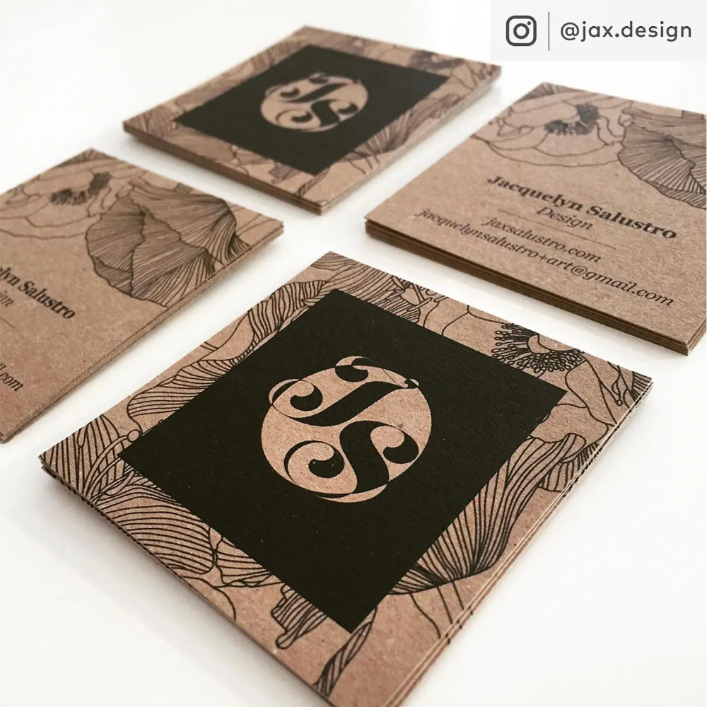 Kraft Paper Business Cards Eco Friendly Cards Vistaprint Kraft Business Cards Business Cards Creative Salon Business Cards