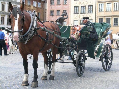 Carruatge a la Rynek Starego Miasta (Varsòvia)